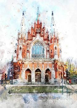 Justyna Jaszke JBJart - Cracow art 32 St. Josephs Church