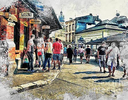 Justyna Jaszke JBJart - Cracow art 6 Kazimierz