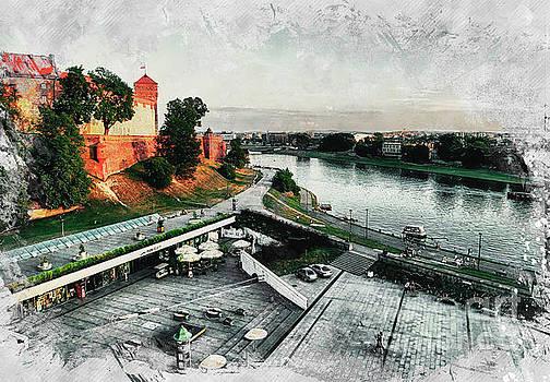 Justyna Jaszke JBJart - Cracow art 8 Wawel