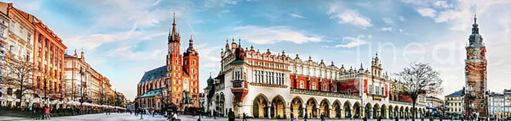 Justyna Jaszke JBJart - Cracow Main Square art