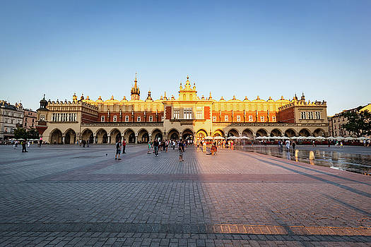 Michal Bednarek - Cracow, Poland. The Cloth Hall in sunshine. UNESCO heritage site.