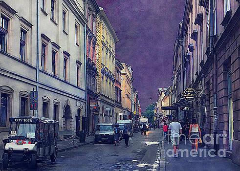 Justyna Jaszke JBJart - Cracow Slawkowska street