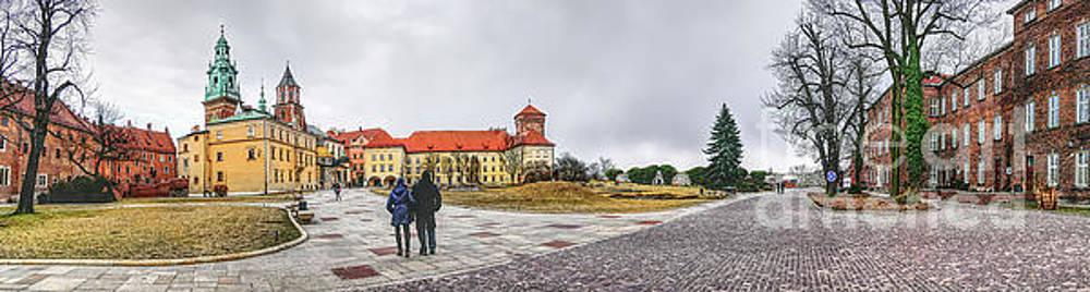 Justyna Jaszke JBJart - Cracow Wawel panorame