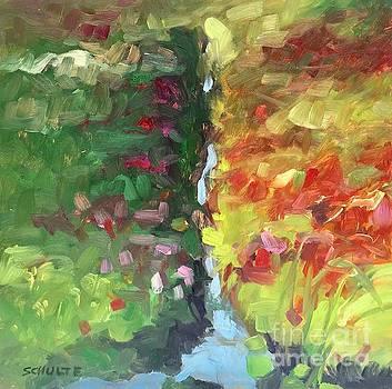 Cranberry Bog Irrigation Ditch by Lynne Schulte