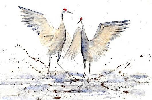 Crane Dance by Diane Splinter