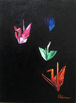 Crane Flight by LaVonne Hand