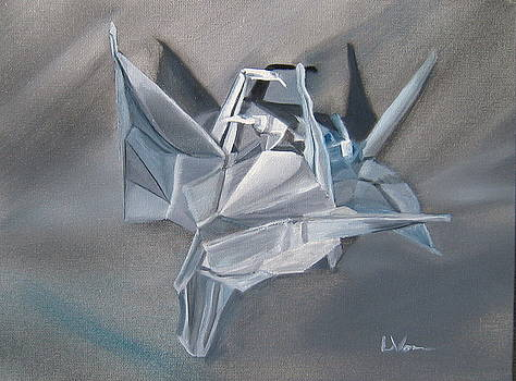 Crane Pile by LaVonne Hand