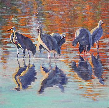 Crane Preen by Katy Widger