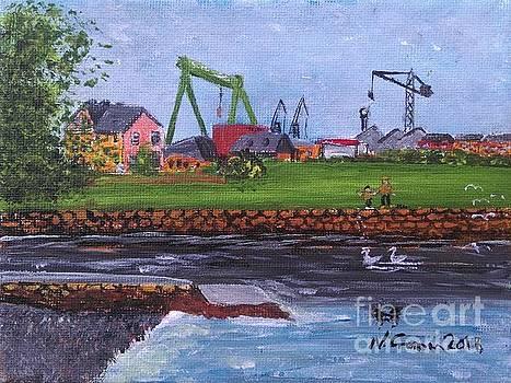 Cranes,  Port Glasgow by Neal Crossan