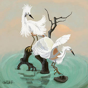 Cranes by Shae Leighland-Pence