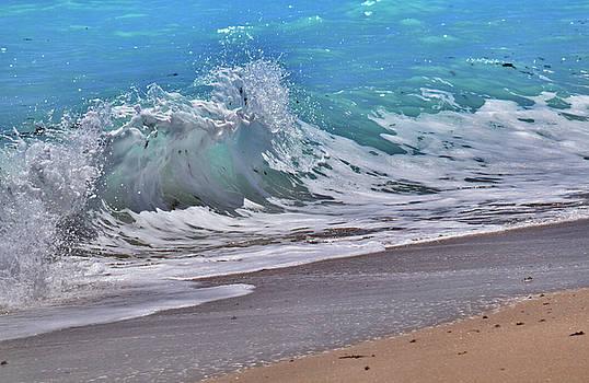 Crashing Ashore by Maria Keady