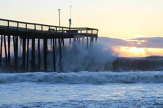 Crashing Under The Pier by Robert Banach