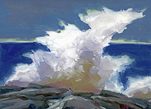 Crashing Wave  by Mary Byrom