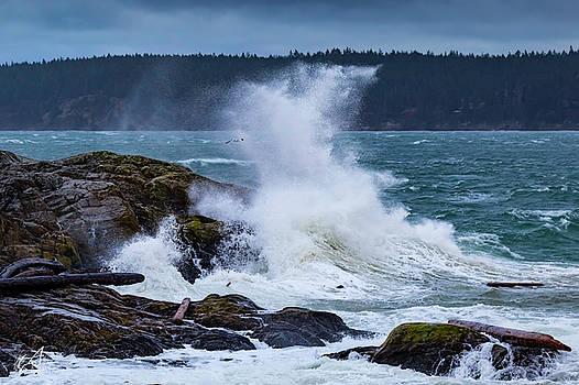 Crashing Wave by Thomas Ashcraft