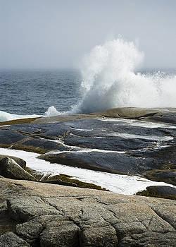 Crashing Waves by Nancy Killam