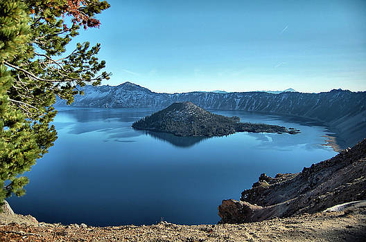 Crater Lake by Ben Prepelka
