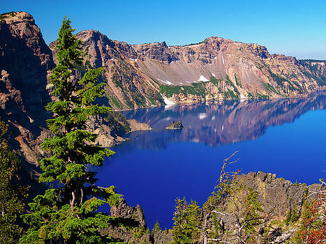 Crater Lake Blue by Robert Cross