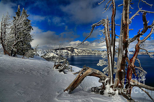 Adam Jewell - Crater Lake Frosted Paradise
