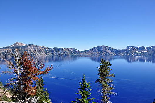 Crater Lake by Misty Achenbach