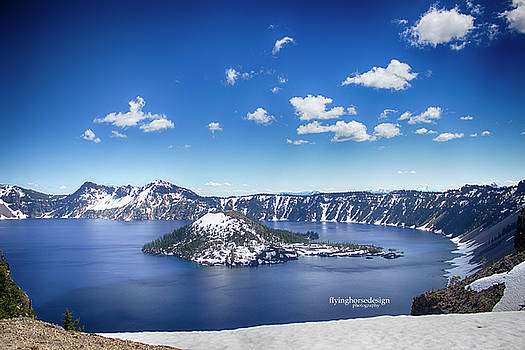 Crater Lake, OR by John Heywood