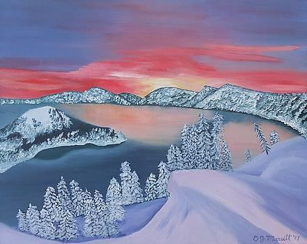 Crater Lake - Oregon by Dorothy Merritt
