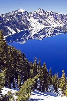 Crater Lake Oregon II by Kristen Vota