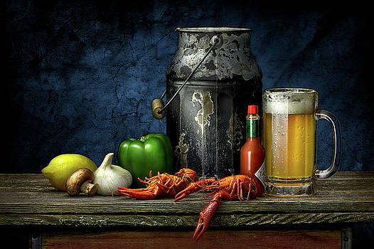 Crawfish and Beer by Kirk Voclain
