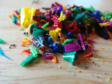 Crayon Leftovers by Sarah Donovan