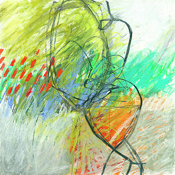 Crayon Scribble #1 by Jane Davies