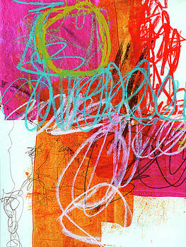 Crayon Scribble #7 by Jane Davies