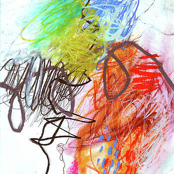 Crayon Scribble#2 by Jane Davies