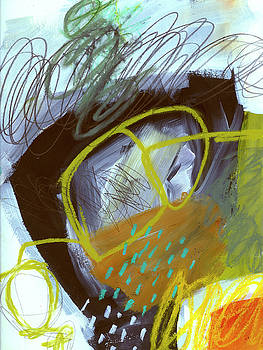 Crayon Scribble#5 by Jane Davies