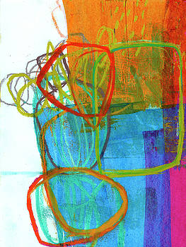 Crayon Scribble#8 by Jane Davies