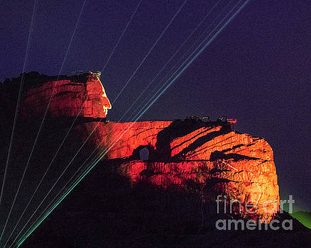 Crazy Horse at Night by Steven Natanson