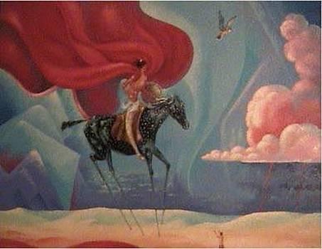 Crazy Horses Vision by Gordon Sage