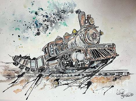 Crazy Train by Denise Tomasura