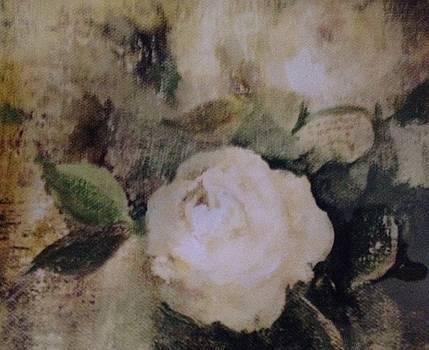 Creamy Roses by Judy Osiowy