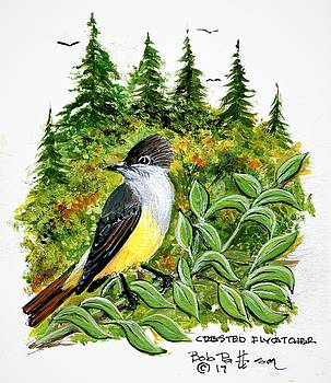 Creasted Flycatcher by Bob Patterson