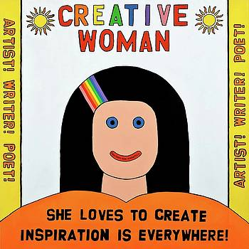 Creative Woman by MaryAnn Kikerpill