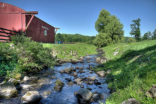 Creek at Walbridge Farm by David Clark