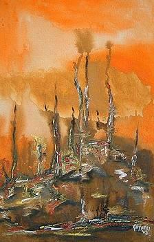 Creepy landscape by Gayatri Manchanda