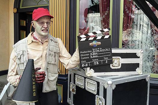 Art Block Collections - Creepy Movie Director