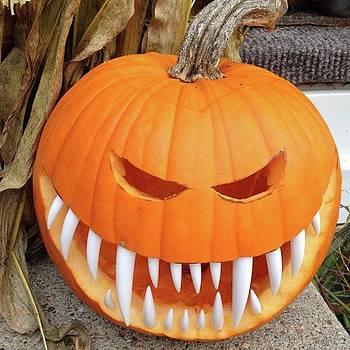 Creepy Pumpkin by Amanda Richter