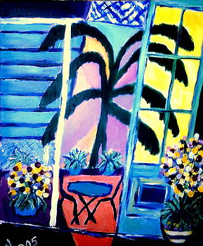 Creole Patio by Ted Hebbler