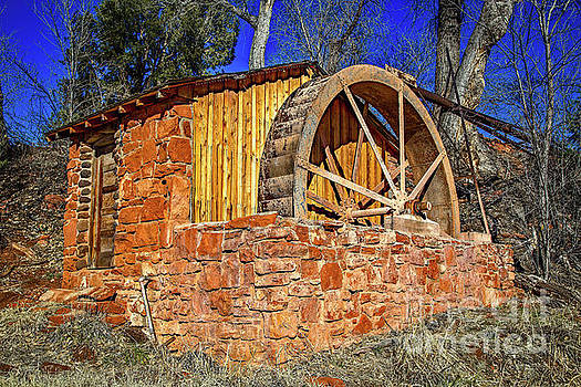 Jon Burch Photography - Crescent Moon Ranch Water Wheel