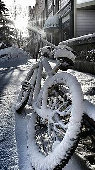 Crested Butte Snow Bike by Fiona Kennard