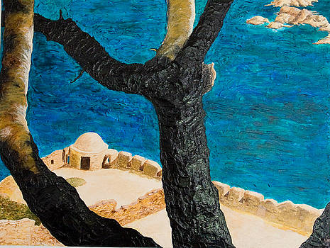 Crete Island by Julia Collard