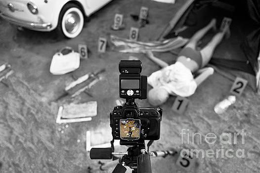 Crime Scene Investigation Scene by Stefano Senise
