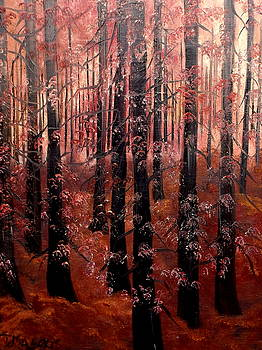 Crimson And Cold by Lisa Aerts