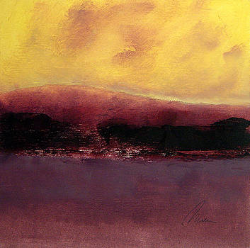 Crimson Cloud Dusk by Richard Morin